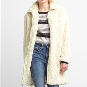 New Gap Sherpa coat, extra small